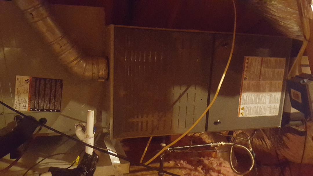 Frisco, TX - Maintenance on American standard Air conditioning