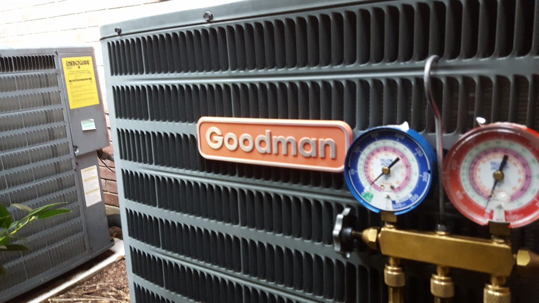 Frisco, TX - Replace evaporator coil for Goodman Air conditioning