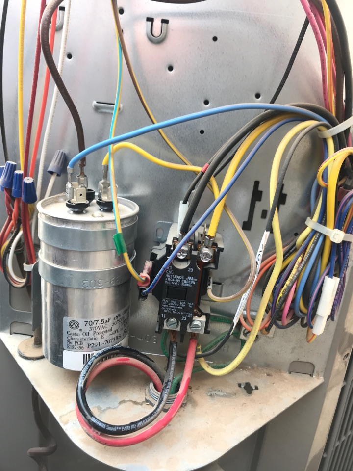 Goodyear, AZ - Replaced capacitor and clean coils on Lennox air conditioner in Wildflower Ranch Goodyear