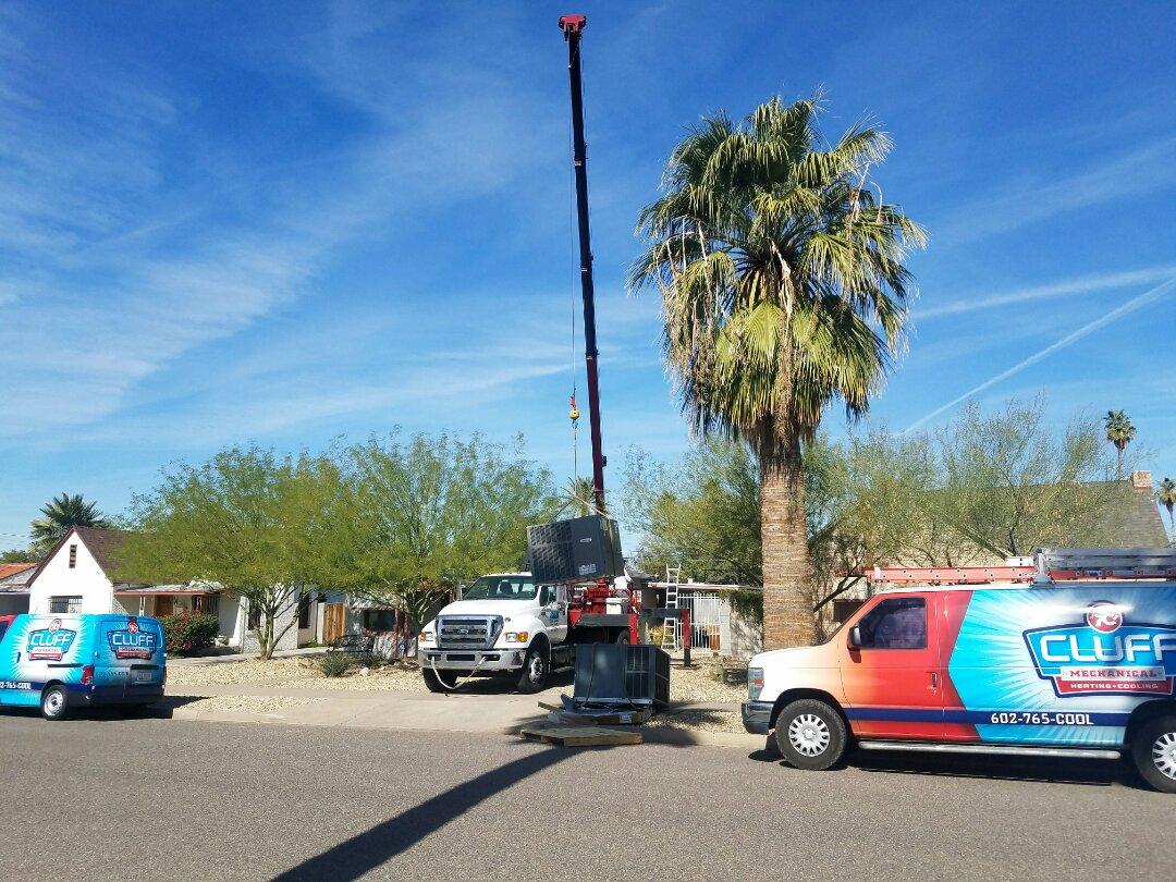 Phoenix, AZ - Changing out a system.