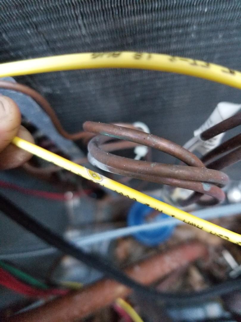 Heating service call. Performed heating repair on Goodman equipment.