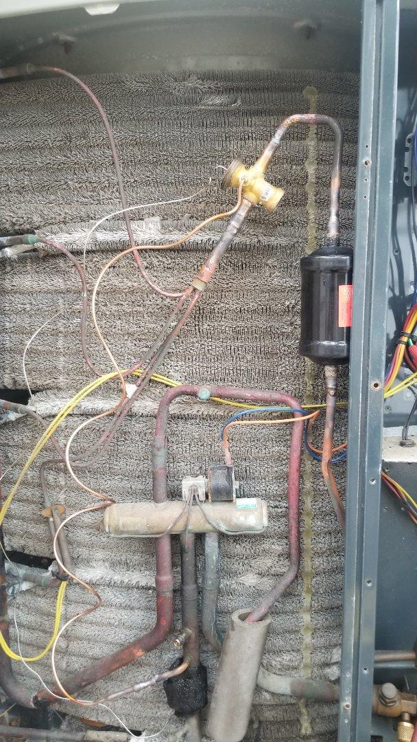 Heating service call. Performed heating repair on trane equipment.