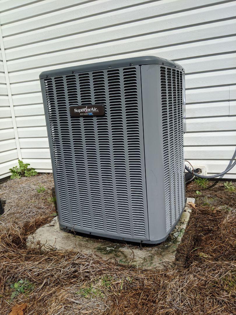 Superior Air (Goodman) heat pump service and maintenance.