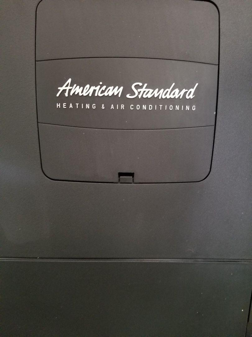 American Standard heat pump service and maintenance