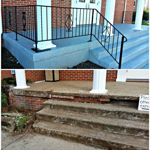 Celebration, FL - Concrete repair is a vital part of keeping many spaces functional and aesthetically pleasing. Keeping your concrete functional and looking great is a great way to keep your residential, commercial, or industrial space performing its intended purpose.