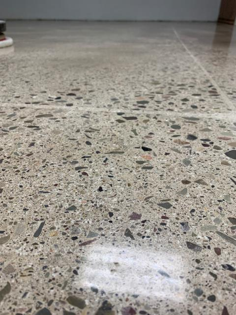 Elon, NC - The concrete flooring in our entryway is absolutely beautiful. When we noticed some cracks, we were quite sad. We have had this floor for years and did not want to pay a fortune to have it completely redone. Luckily, we found Match Patch Pro. Their products gave us the ability to repair the cracks and match the fixed areas to the concrete. You can not even tell some spots were different than the original!! If you have a concrete floor that you love but needs some spots filled in, I highly recommend Match Patch Pro!!