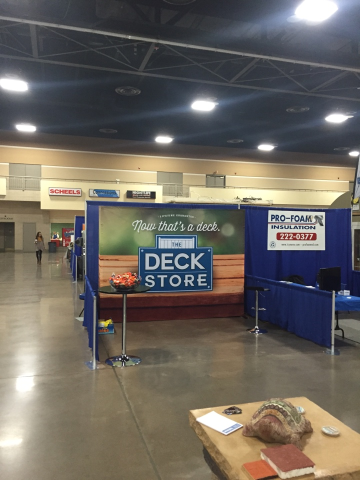 Bismarck, ND - Come and talk to Shane at our Deck Store booth in the Bismarck/Mandan Home Show Booth