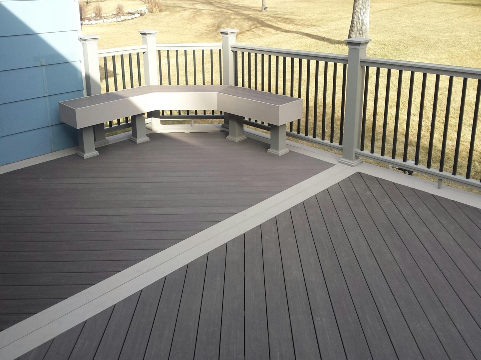 Bismarck, ND - First deck of the season built in north Bismarck.