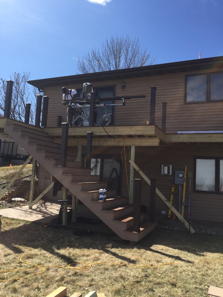 Bismarck, ND - The Deck Store - back yard living at its best