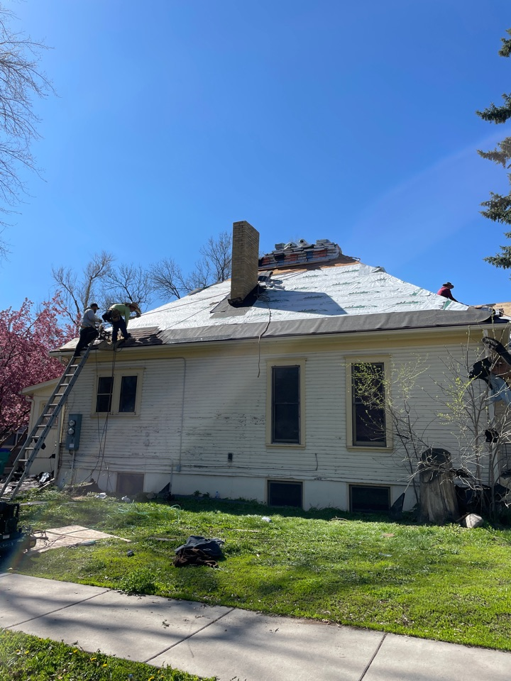 Fort Collins, CO - Roof replacement! Covered by the insurance carrier!