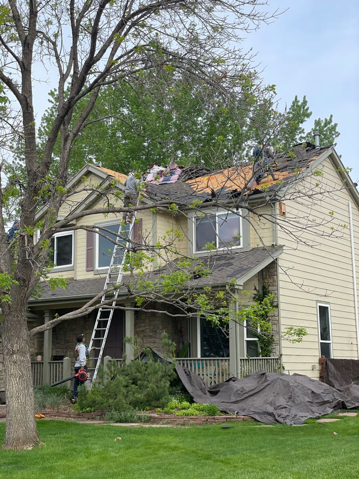 Longmont, CO - Re-roof this roof it had hail damage! We are installing Owens Corning Duration Storm!