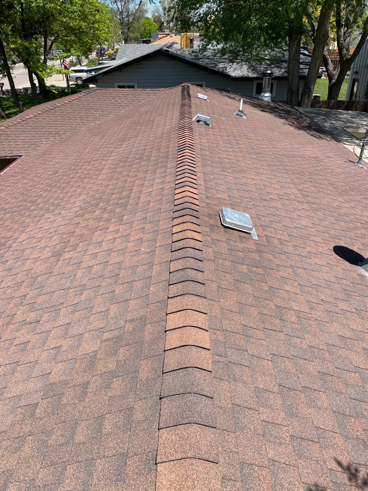 Longmont, CO - Out here in Longmont taking a look at this roof, the property is under contract and it needs a new roof before closing! If you're a real estate agent and need us to come check out a roof we could help out!!!