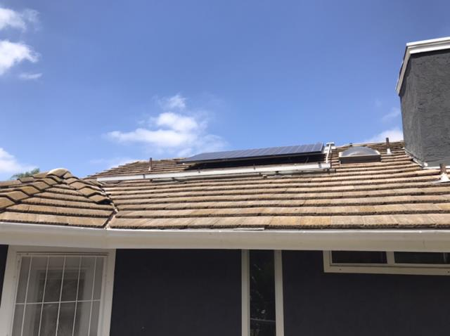 Oceanside, CA - Roof repair