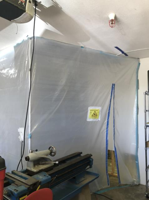 Provided restoration services after water damage occurred in the home.