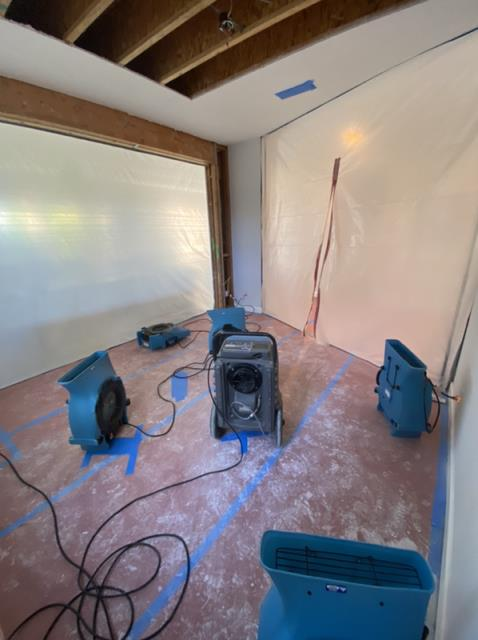 Chula Vista, CA - Provided water mitigation services after a water leak was found in the home.