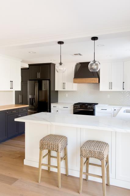 Chula Vista, CA - Performed kitchen remodel and flooring installation.