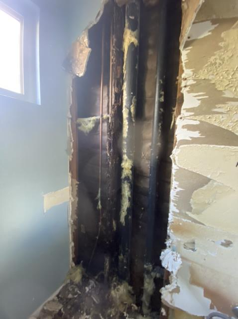 Escondido, CA - Demolition and remediation for mold.