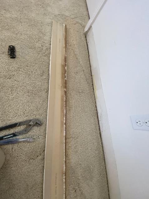 San Diego, CA - 2nd story leak from the upstairs bathroom puddle leaking from the ceiling. Performed emergency water mitigation dry-out services.