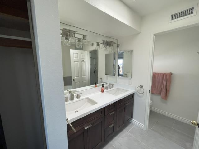 Performed repairs and upgrades to bathrooms after water damage had occurred in the home.