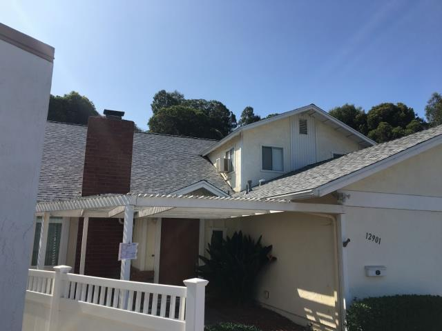 Completed Tear-off and Re-roof  comp shingles Job in Poway Ca