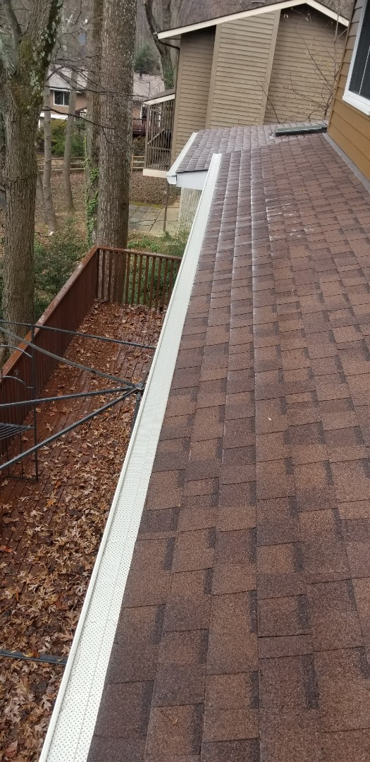 Rockville, MD - Never clean your gutters again with  Leaf Releaf.