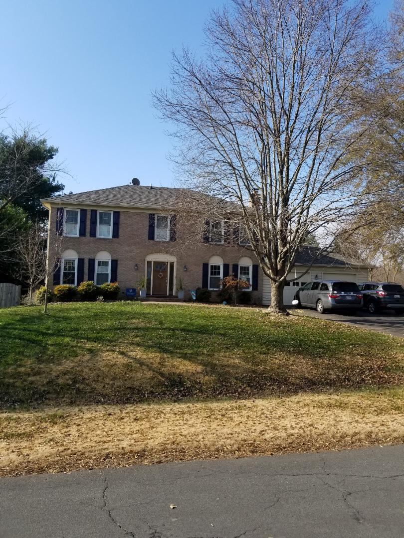 North Potomac, MD - Hip roof completed in North Potomac Maryland.