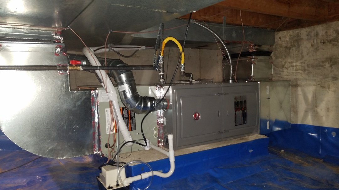 Westminster, CO - Installed New Trane Ac in crawlspace