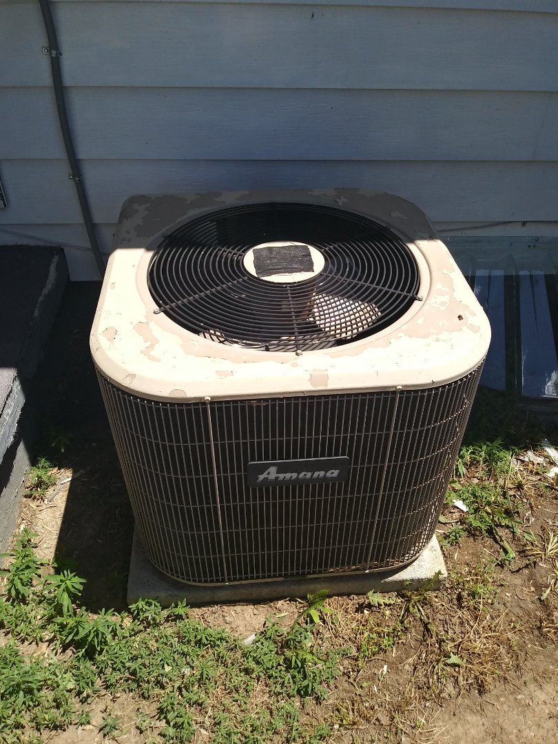 Aurora, CO - Tune up on an Amana furnace and AC