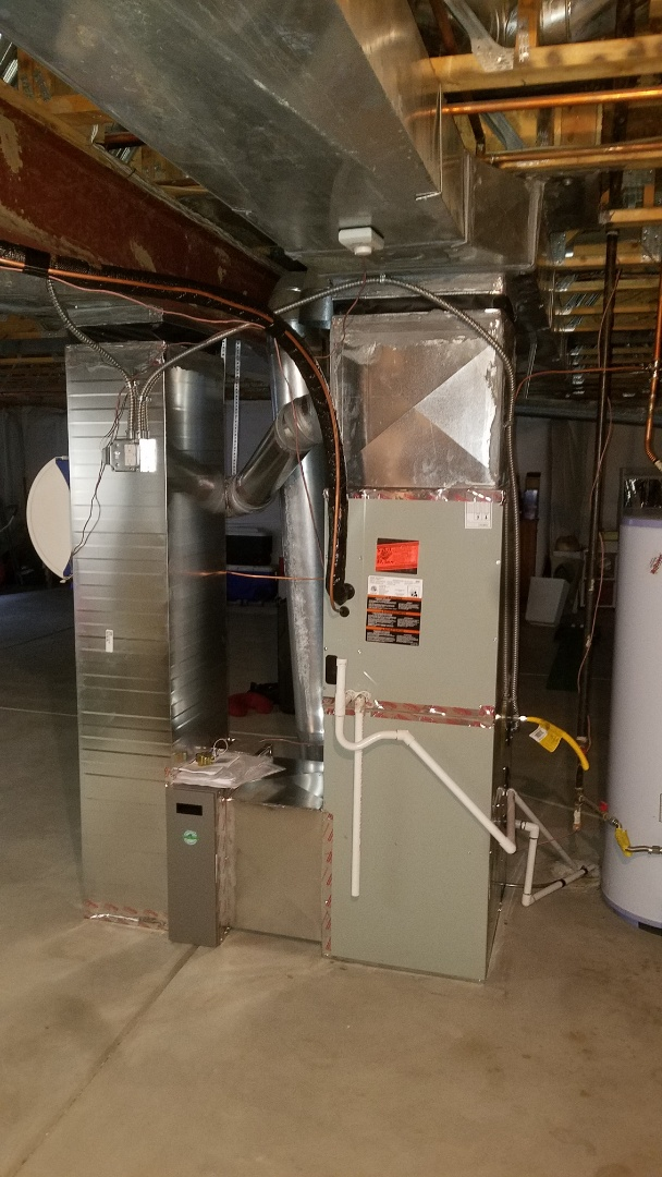Lakewood, CO - Installed new high efficiency Trane furnace and air conditioner attach a picture