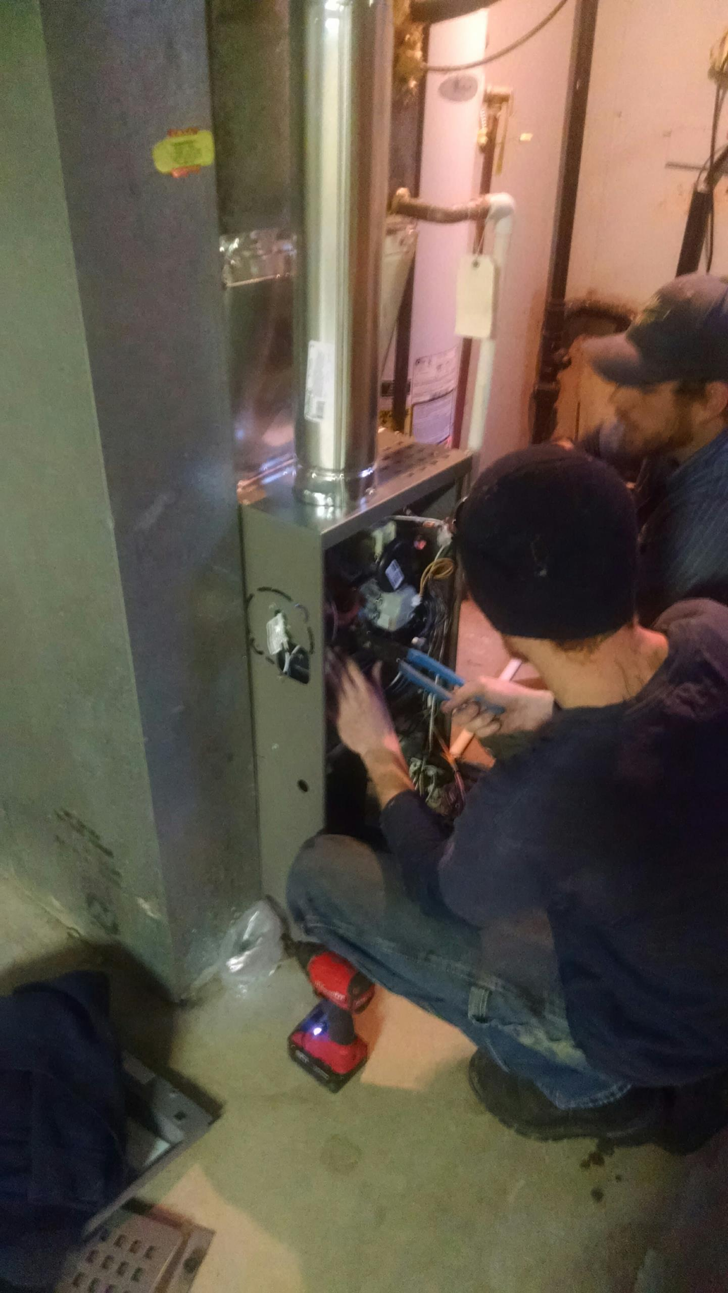 Greenwood Village, CO - Install a new Lennox furnace.
