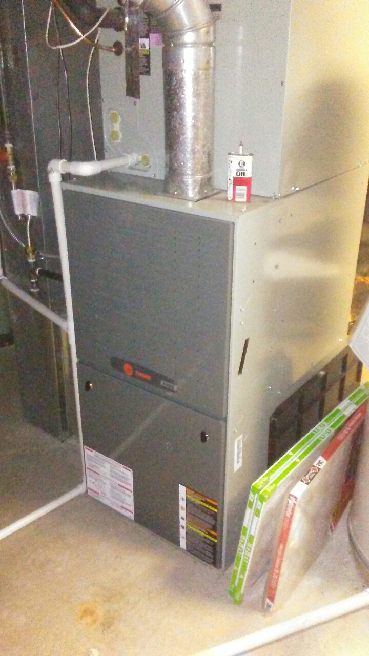 Lone Tree, CO - Furnace and A/C tuneup on a Trane system