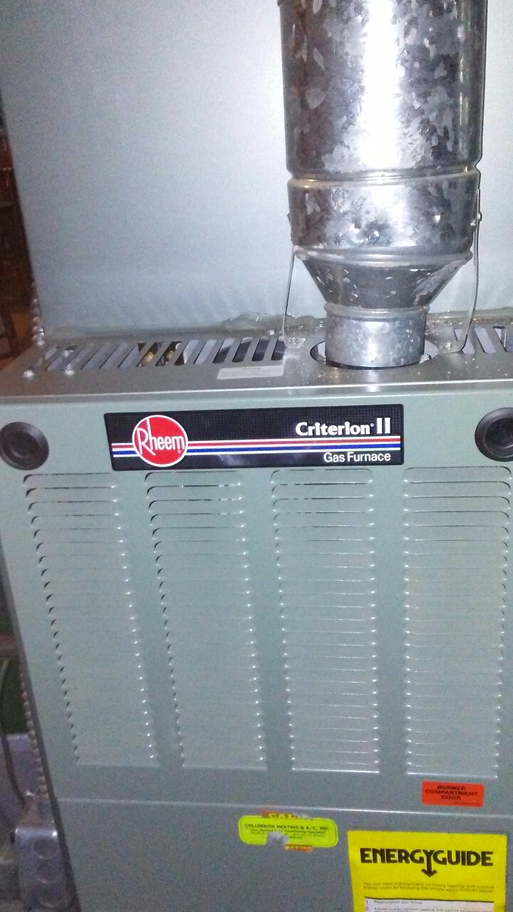 Louisville, CO - Furnace and a/c tuneup on a Rheem