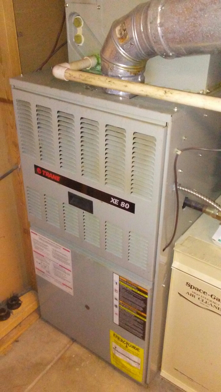 Lone Tree, CO - Furnace and a/c tuneup on a Trane