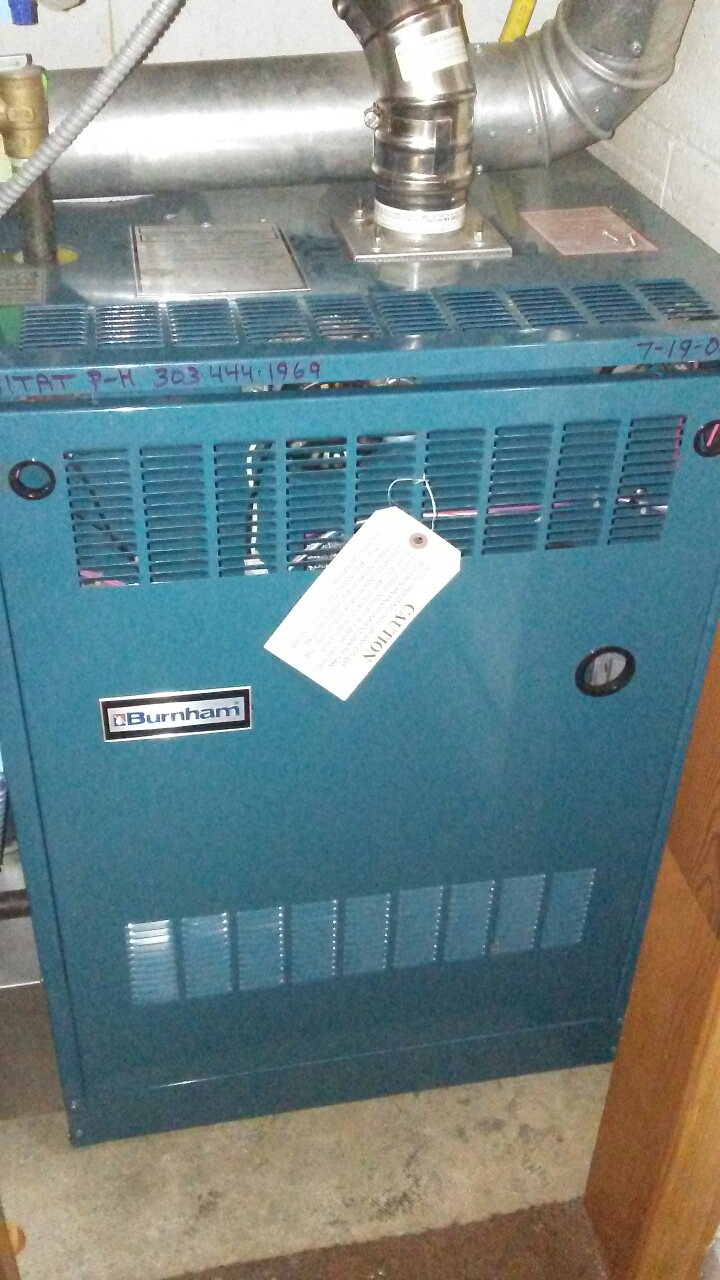 Boulder, CO - Boiler tune up cleaning and end of season cooler shutdown
