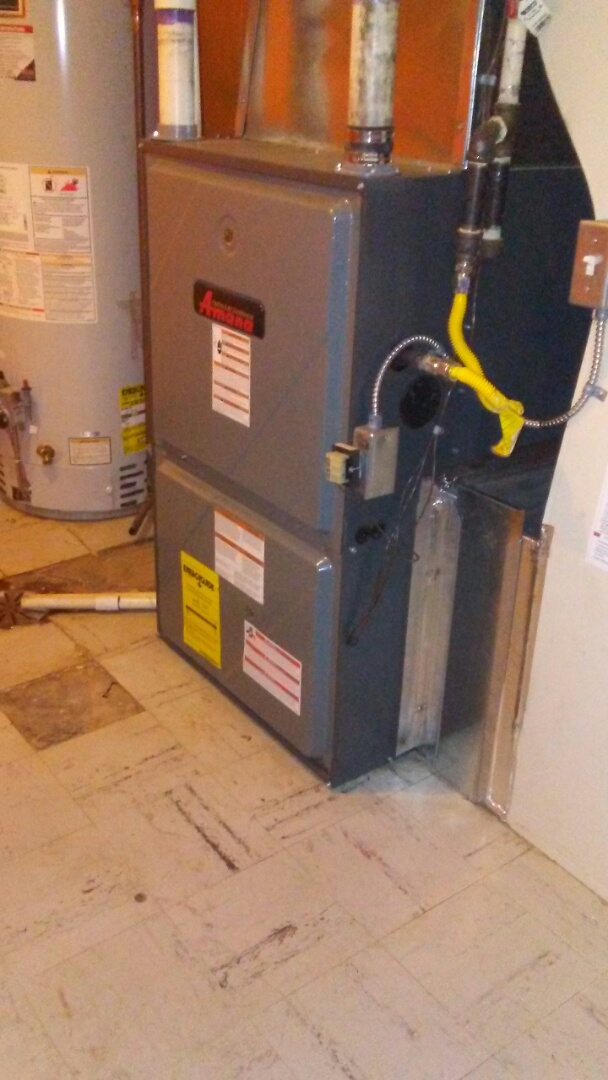 Golden, CO - Furnace tuneup on a Amana
