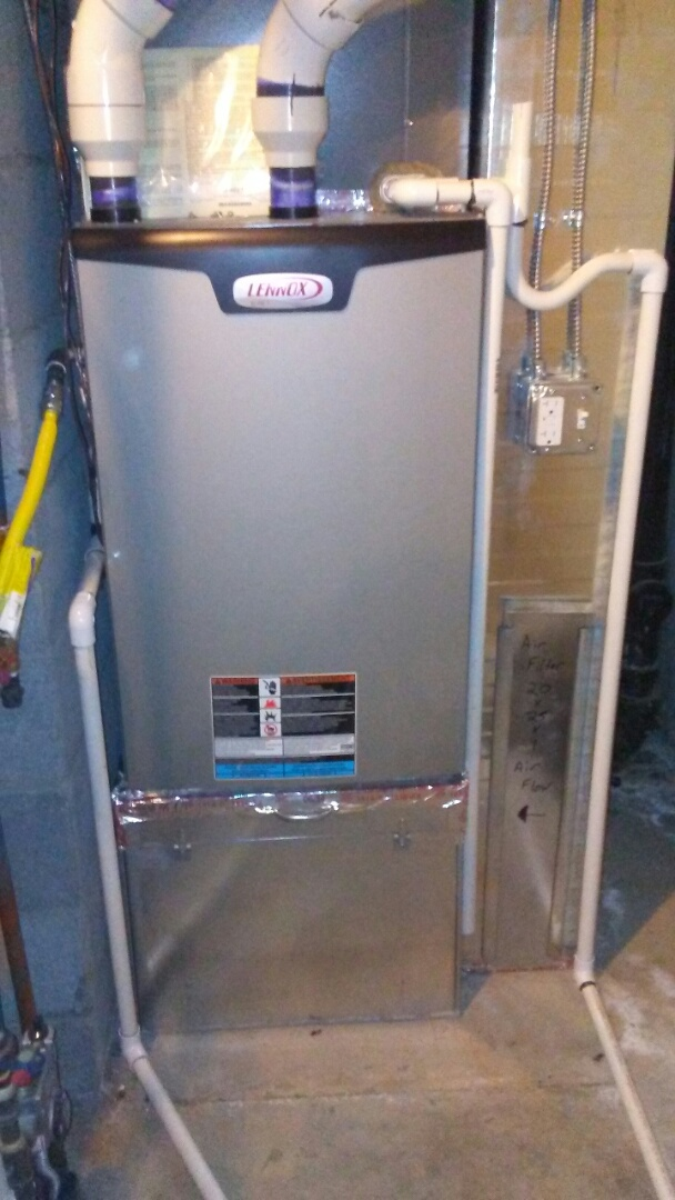 Boulder, CO - Tuneup on 2 Lennox furnaces