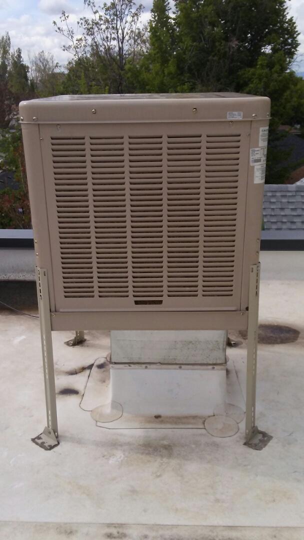 Boulder, CO - Boiler tuneup and an evaporative cooler shutdown