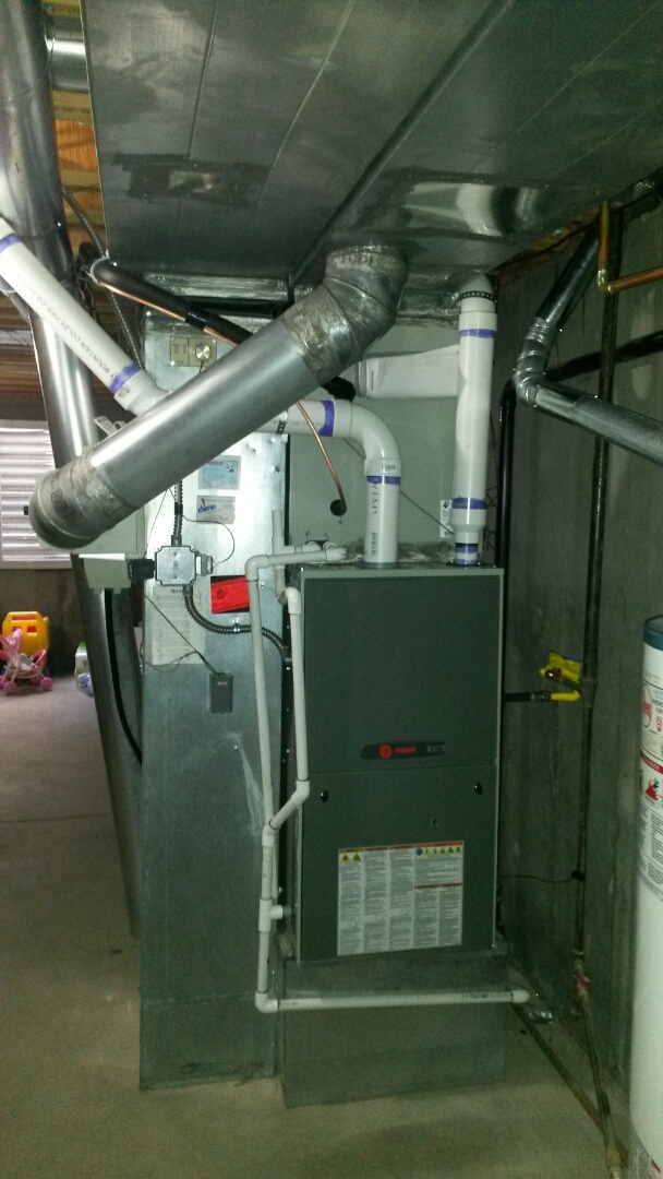 Littleton, CO - Installed new trane furnace & Ac