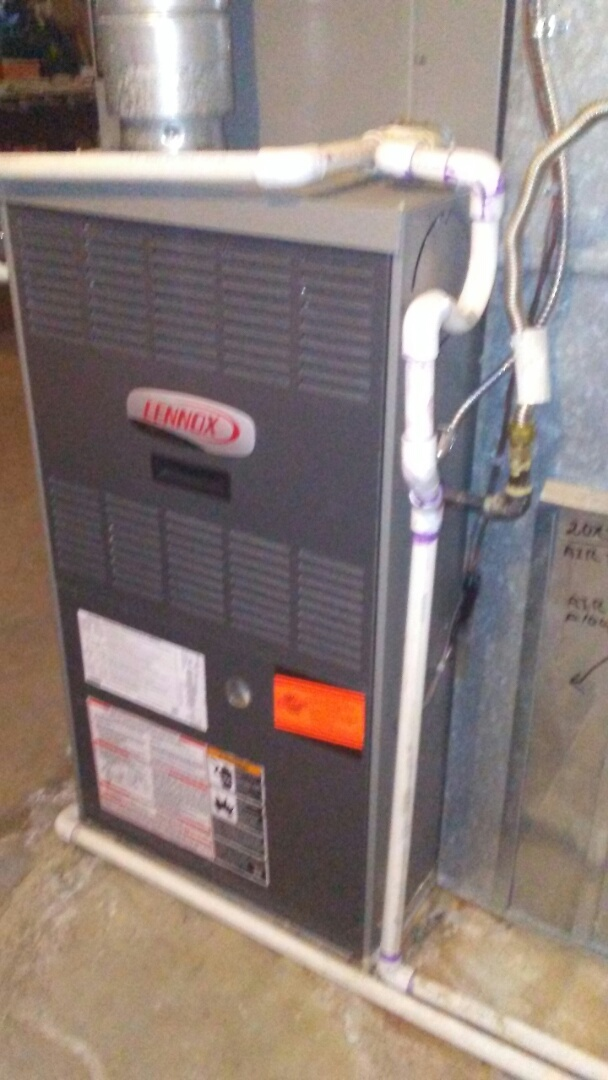 Thornton, CO - Furnace tuneup on a Lennox