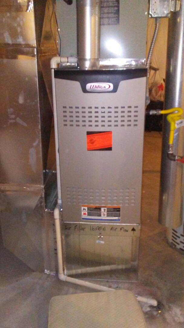 Thornton, CO - Furnace and a/c tuneup on a Lennox system