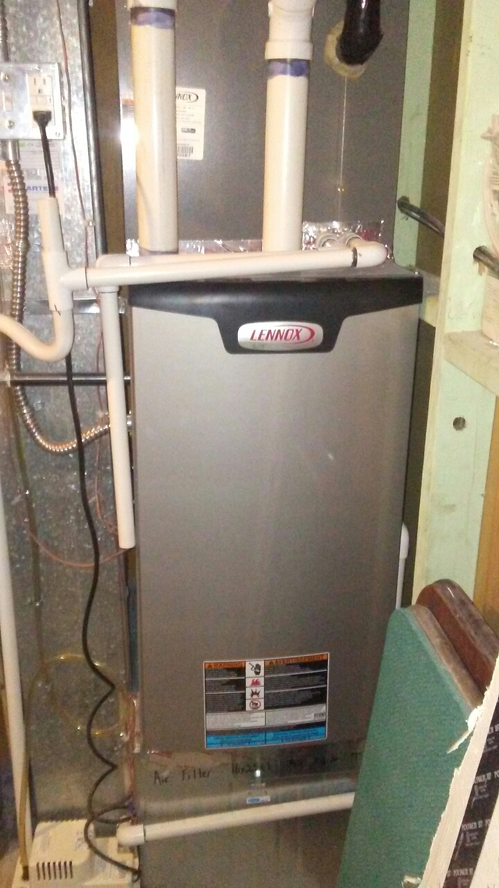Westminster, CO - Replaced gas valve on Lennox furnace