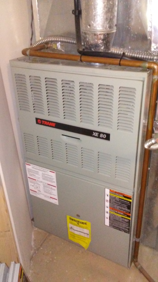 Lakewood, CO - Furnace tuneup on a Trane system
