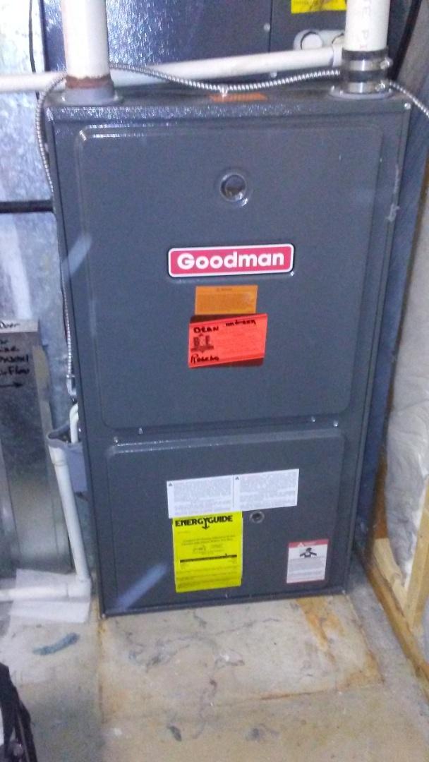 Denver, CO - Furnace tuneup on a Goodman system