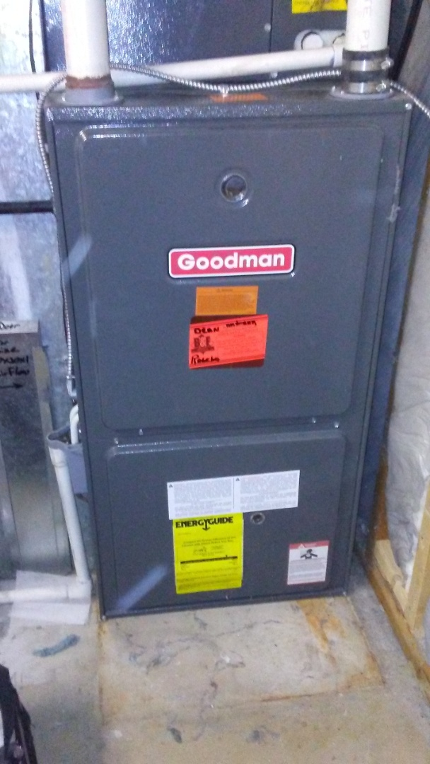 Aurora, CO - Control board replacement on a Goodman furnace