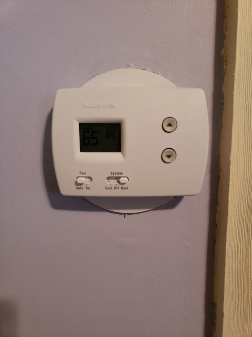 Denver, CO - Installed a new Honeywell Pro-3000 thermostat