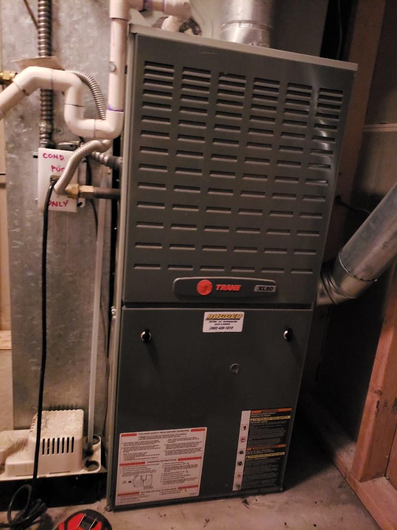 Arvada, CO - No heat call on a Trane furnace