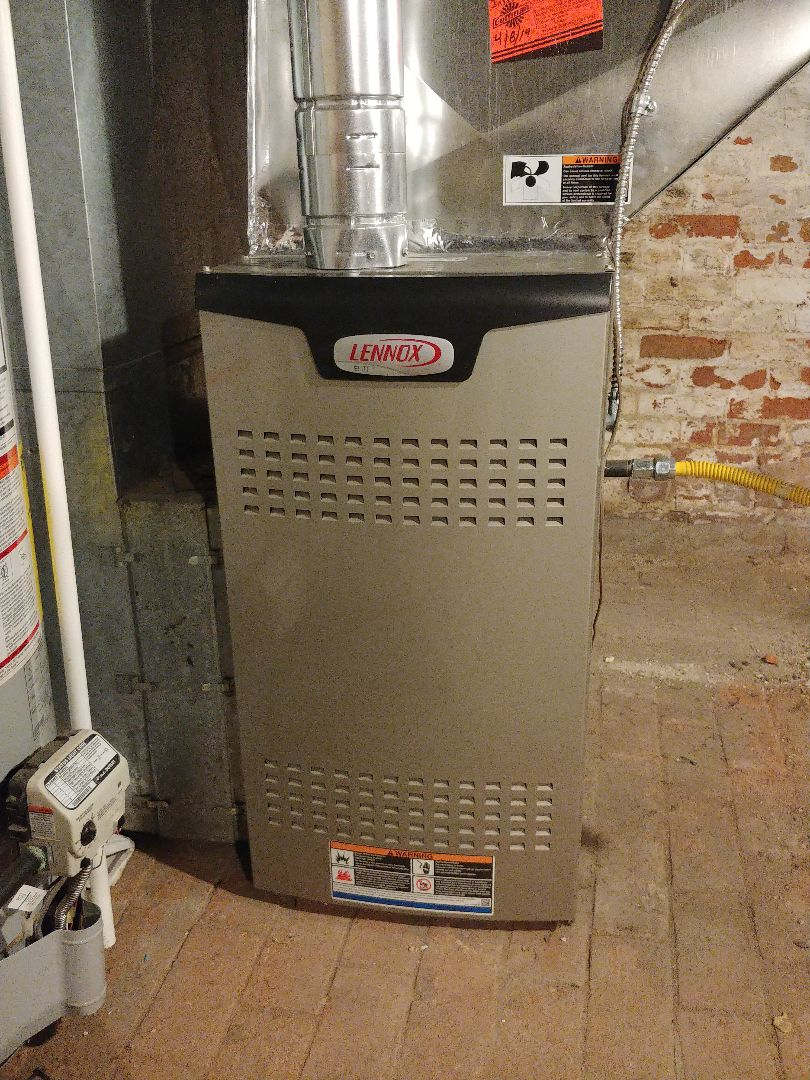 Denver, CO - Lennox furnace tune up cleaning.