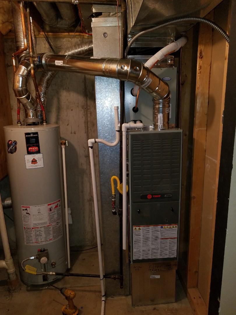 Littleton, CO - Installed New Trane Furnace & AC system.