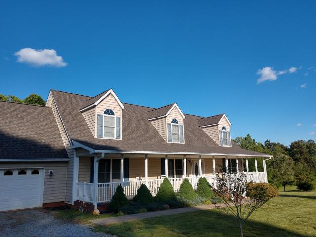 Cleveland, NC - Roof replacement from storm damage.