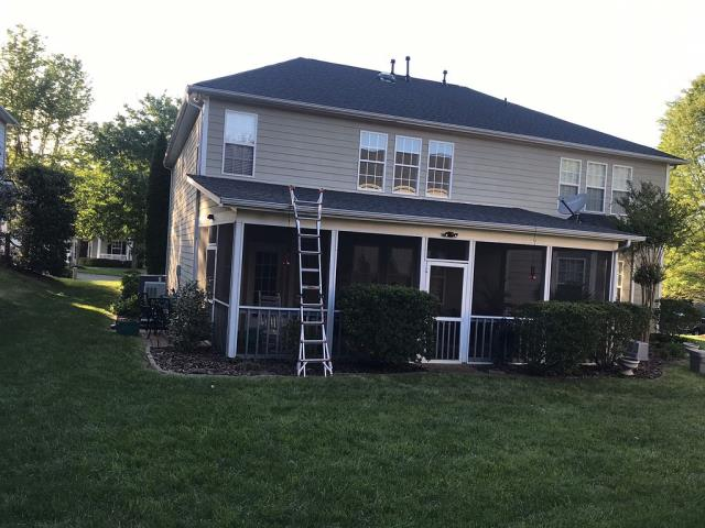 Mooresville, NC - Storm damaged roof replaced!